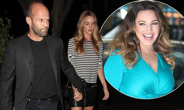 Jason Statham steps out with Rosie after Kelly Brook 'punching' claims