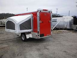 Utility Trailer Made Into Camper Html Autos Post Camping Trailer
