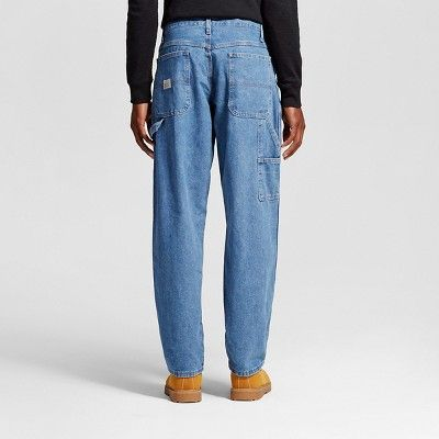 Wrangler Men's Relaxed Fit Carpenter Jeans - Antique Stone 31X30