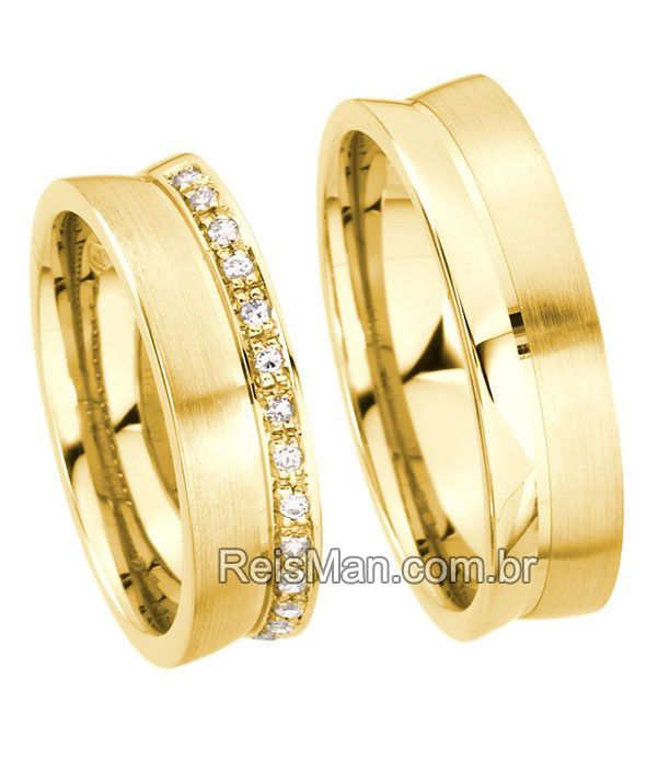 Alianças de Casamento Morumbi wedding ring