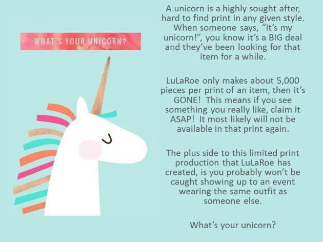 What is a LuLaRoe Unicorn?