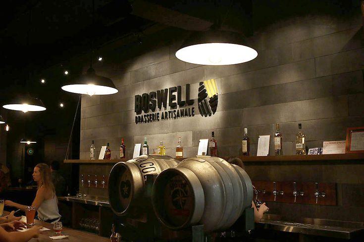 Pourquoi attendre lorsque les locaux sont prêts à accueillir les amateurs de bières ? C'est ce que se sont dit le copropriétaire de Boswell Brasserie Artisanale Bières et Plaisirs, décembre 2015 #bière #Boswell #brasserie #artisanale #beer