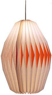 Akura lampeskærm B - Hvid/orange - Blide nuancer - Magasin Onlineshop - Køb dine varer og gaver online
