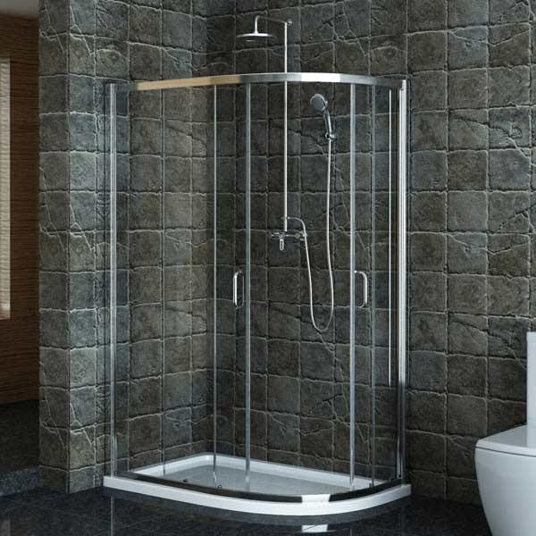 Review Technik fset Sliding Door Enclosure x For Your Plan - Unique shower stall sizes Modern