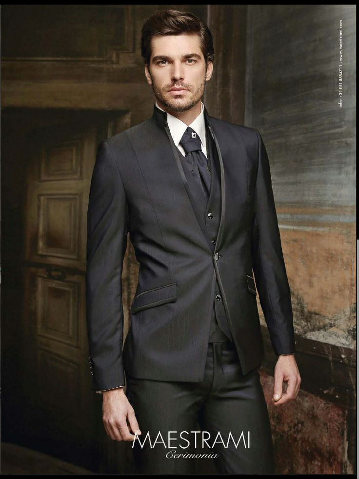 Lo sposo moderno e classico insieme - bridegroom modern and Classic in the same time - in grey and in black -perfectday.it - weddingitalianstyle.couk