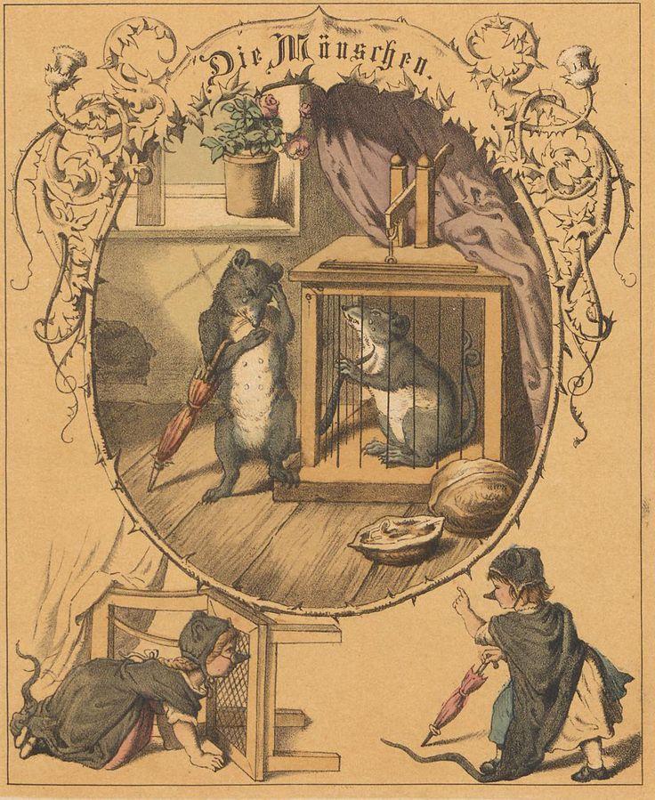 Anton Wilhelm Florentin von Zuccalmaglio, Kinder-Schaubühne (1864) Ills. by Gustav Süs