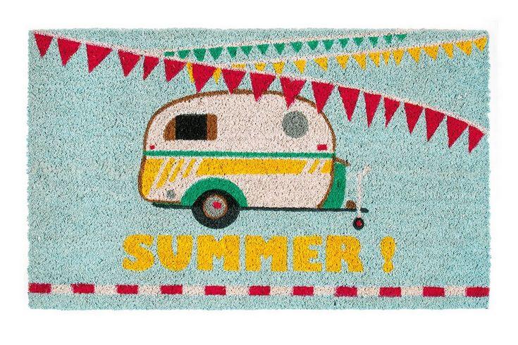 """Fußmatte Summer """"Campingwagen"""""""