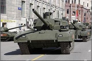 Russia's New T-14 Armata  Six-Zone Tank with super-piercing Shell and unmanned Turret