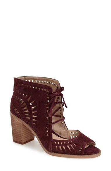 Vince Camuto 'Tarita' Cutout Lace Up Sandal (Women) (Nordstrom Exclusive) available at #Nordstrom