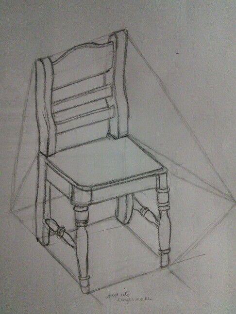 Карандашный стул фото