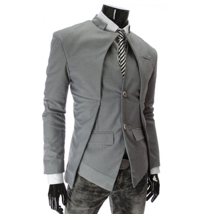 2016 New Mens Casual Blazers Korean Style Men