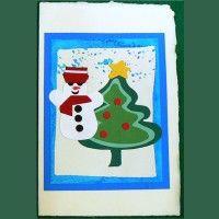 Pupazzo e Albero di Natale (art. 2633)