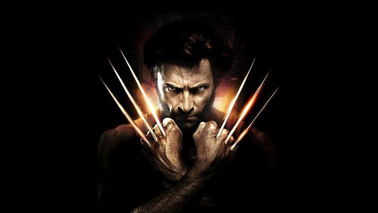 Fotos von Hugh Jackman Mann Krallen Logan, Wolverine Film Hand Prominente Schwarzer Hintergrund 2560x1440
