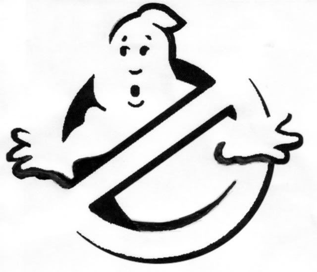 Pin ghostbusters logo stencil express projects on