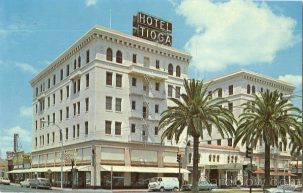 The tioga hotel in merced ca this is so important beacuse the two top suites were once rented to marolin monroe and elvis presly you can now live in them as an apartment this is a must see