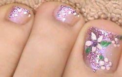 Decoración de uñas de los pies ~ MANICURE PEDICURE PEINADOS ...