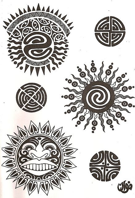 Marquesan Tattoo Symbol Meaning