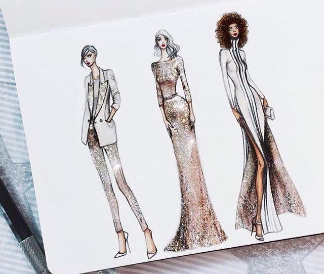 Thea granath fashion skeches designer illustrator
