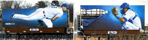 More creative #billboard ads from the #Kansas City #Royals