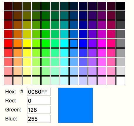Pinterestu0027teki 25u0027den fazla en iyi Color code picker fikri - html color code chart