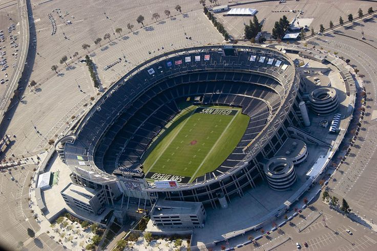 Qualcomm Stadium, San Diego CA - Seating Chart View get your Chargers and College Bowl Tickets from us!!