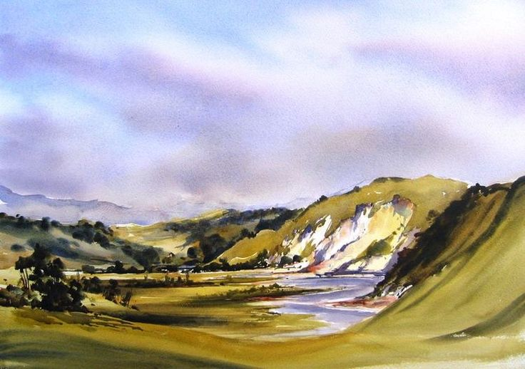 Online Gallery|Bernadette Parsons|New Zealand Watercolour Artist|Landscape Artist Gallery