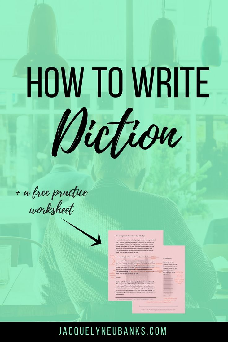 images about write right now creative how to write the perfect novel pt 1 diction