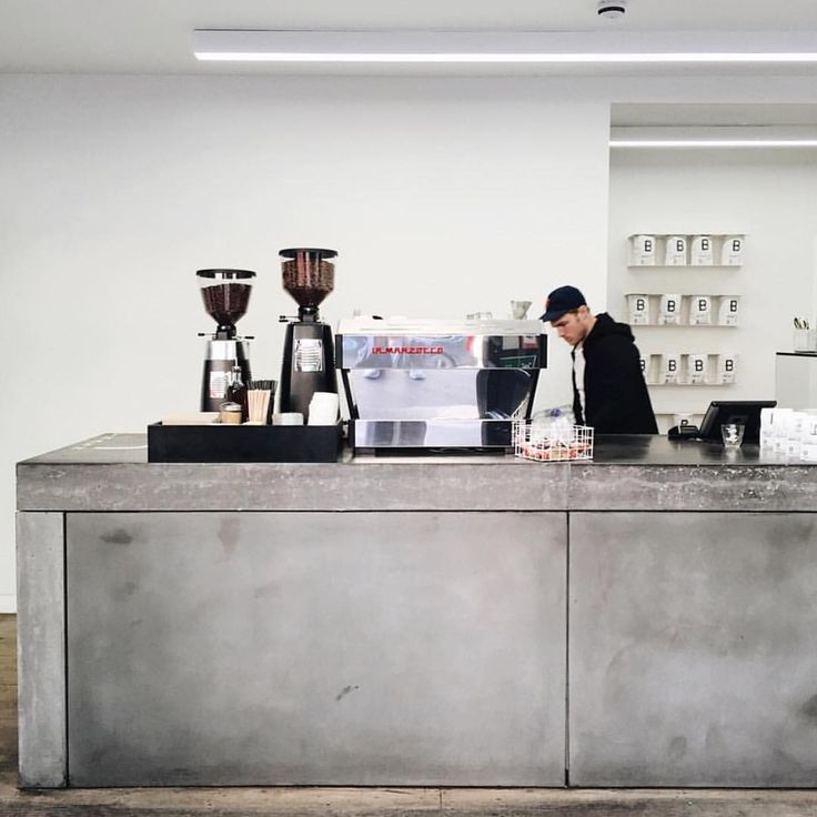 Espresso bar at @brooklyncoffee in Shoreditch  @courierpaper #acmecups #specialtycoffee #acmeforlife (at Brooklyn Coffee)