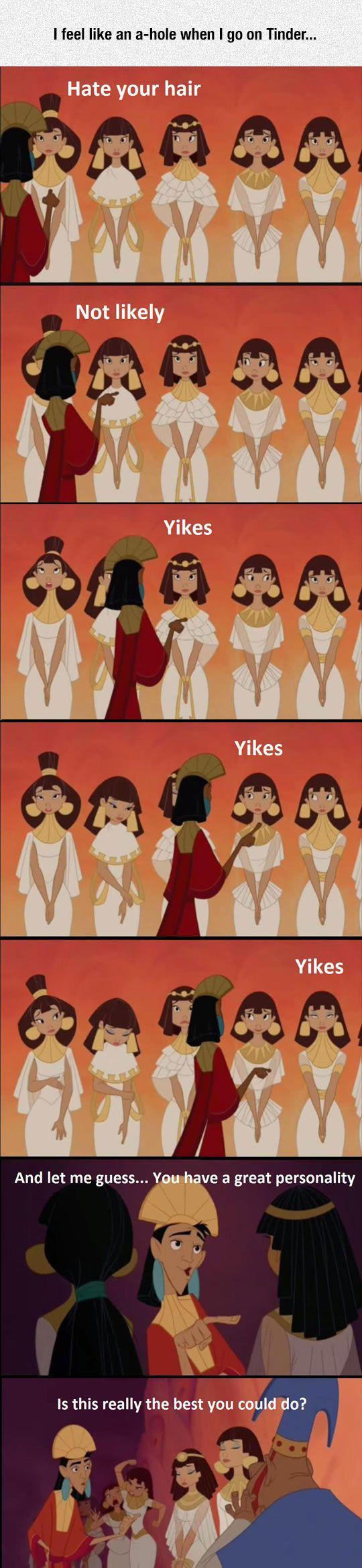 Rejecting Like Kuzco