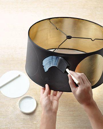 Floor Lamp Lamp Shades: Gilded Floor-Lamp Shade,Lighting