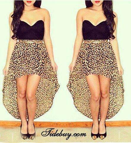 Cheetah print, i need this dress.