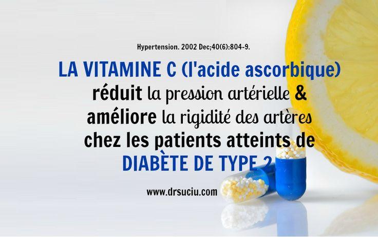 La vitamine C et le diabète