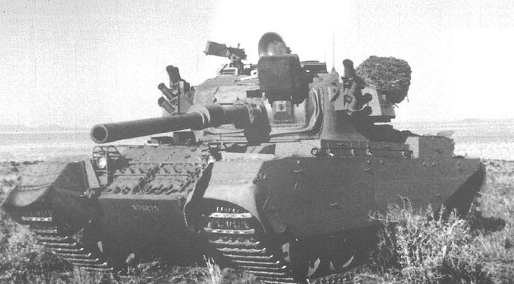 South African Olifant Mk.1 tank.