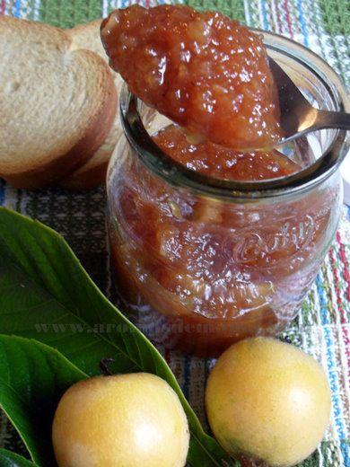 MERMELADA DE NÍSPEROS ~ Aromas de Mamá   Recetas de Cocina   aromasdemama.com