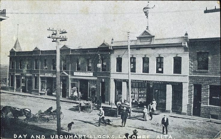 Downtown Lacombe 1908 Lacombe, AB