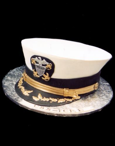 Go Navy!  Cake by Mike's Amazing Cakes in Redmond, WA!