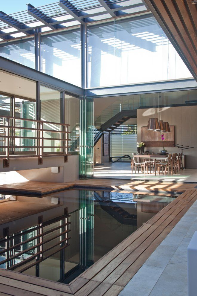 1000 ideas about courtyard pool on pinterest pools house plans with pool and courtyard house for Disadvantage of indoor swimming pool