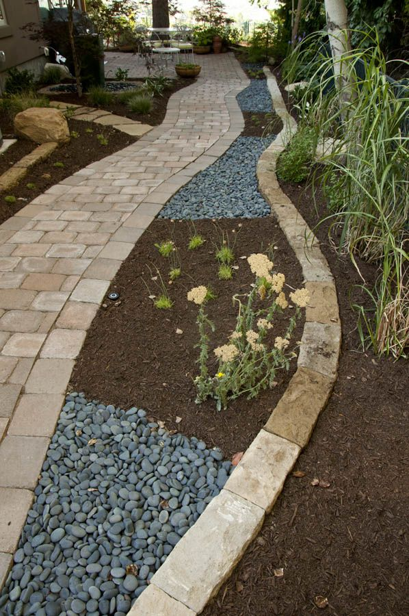 1773 best images about walkway ideas on pinterest more for Walkway edging ideas