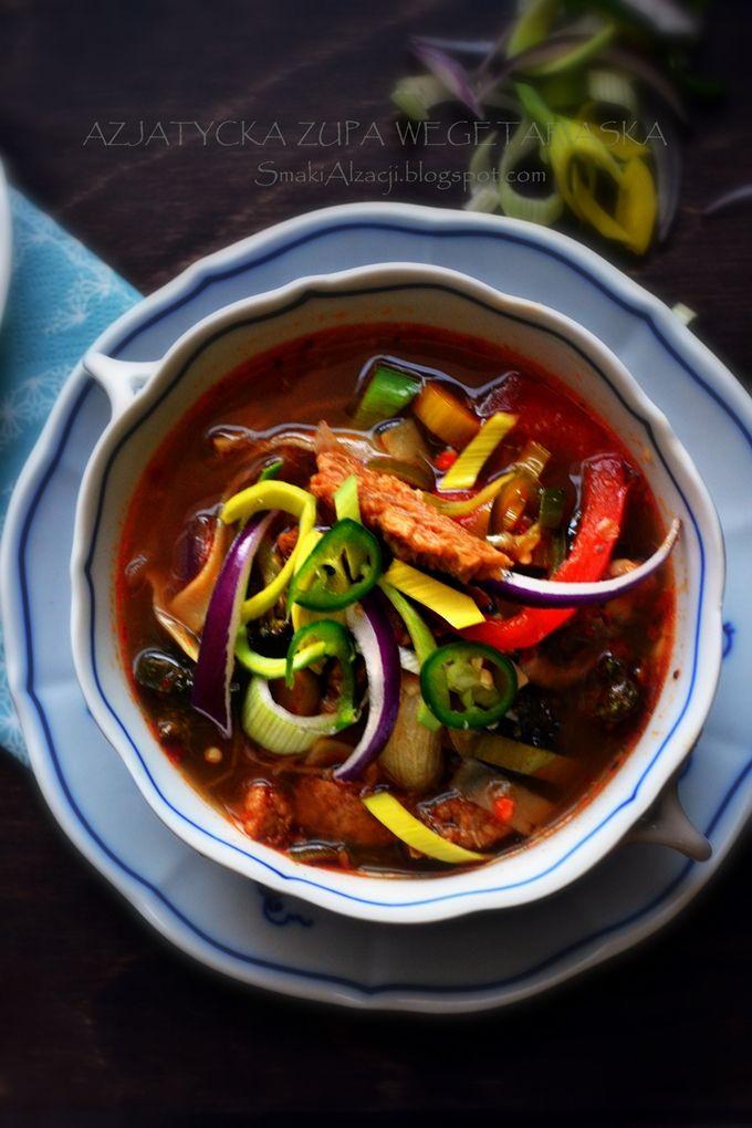 Asian Vegetarian Soup
