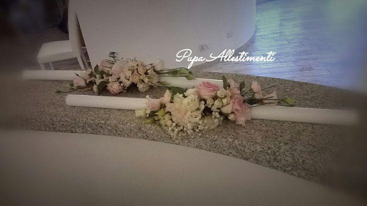 decorazione candele per matrimonio ortodosso..Pupa Allestimenti
