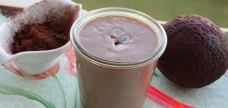 Batido de aguacate y cacao (Smoothie sabor brownie) | Hit Cooking