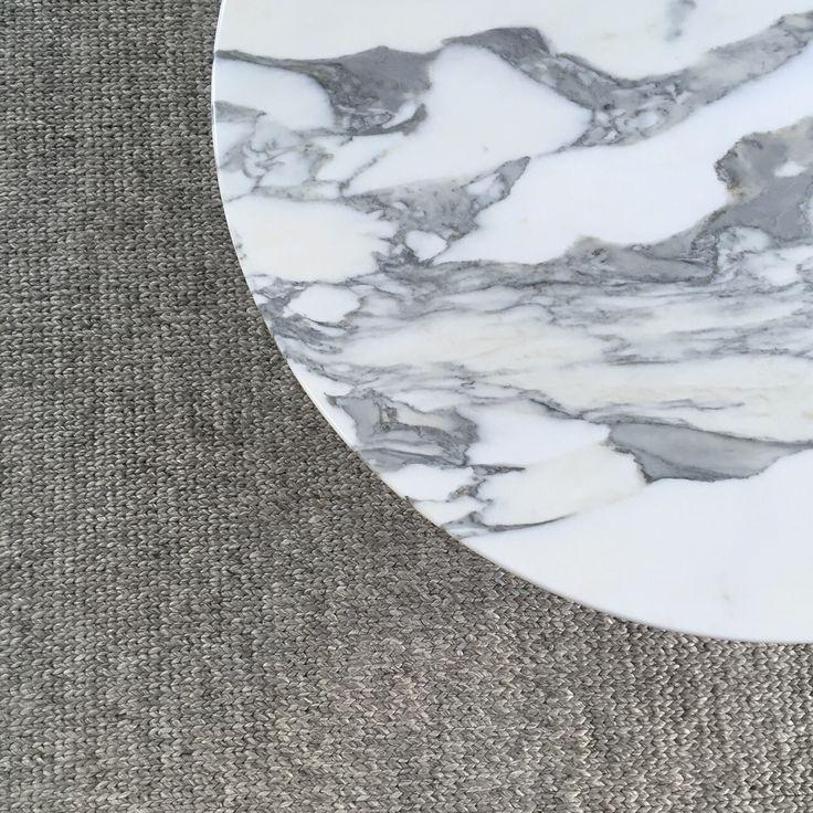 Calacatta marble coffee table
