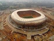 2010 Soccer stadium, Soweto. 10 min from my house!
