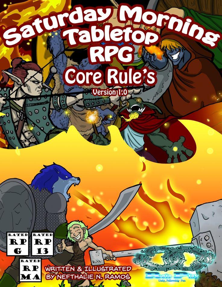 Saturday Morning Tabletop RPG - Core - Infinite Roleplay | Saturday Morning Tabletop RPG | DriveThruRPG.com