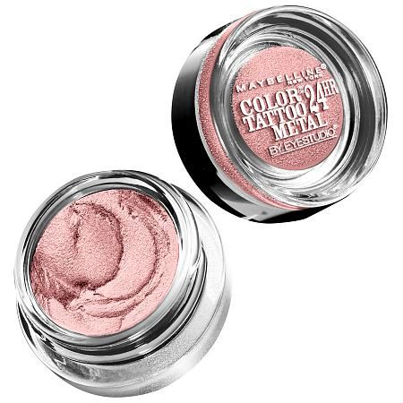Maybelline NY EyeStudio Color Tattoo Metal 24hr Cream Gel Shadow in Inked In Pink