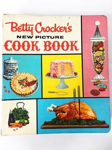 Betty Crocker's New Picture Cook Book.  FIRST EDITION Rare & Collectible Cookbook circa 1961