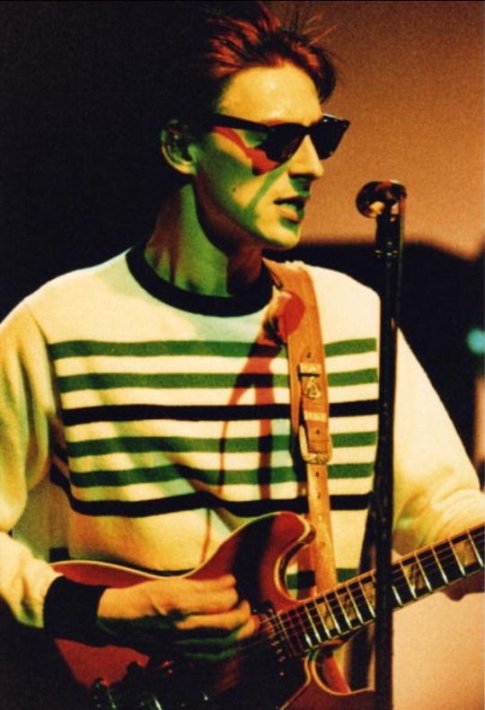 Paul Weller, c. Mid 80's, performing with the Style Council