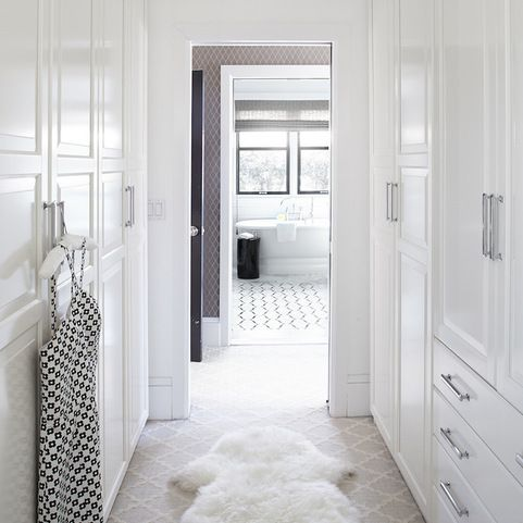 Walk Through Closet Design Ideas, Pictures, Remodel and Decor