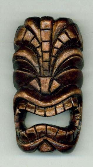 Tiki mask by ~tflounder  Traditional Art / Sculpture / Fantasy
