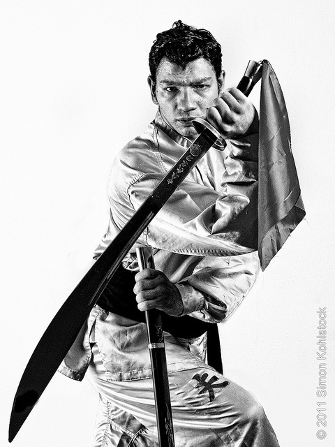 Kung-Fu Portrait with Sword by simon.k, via Flickr